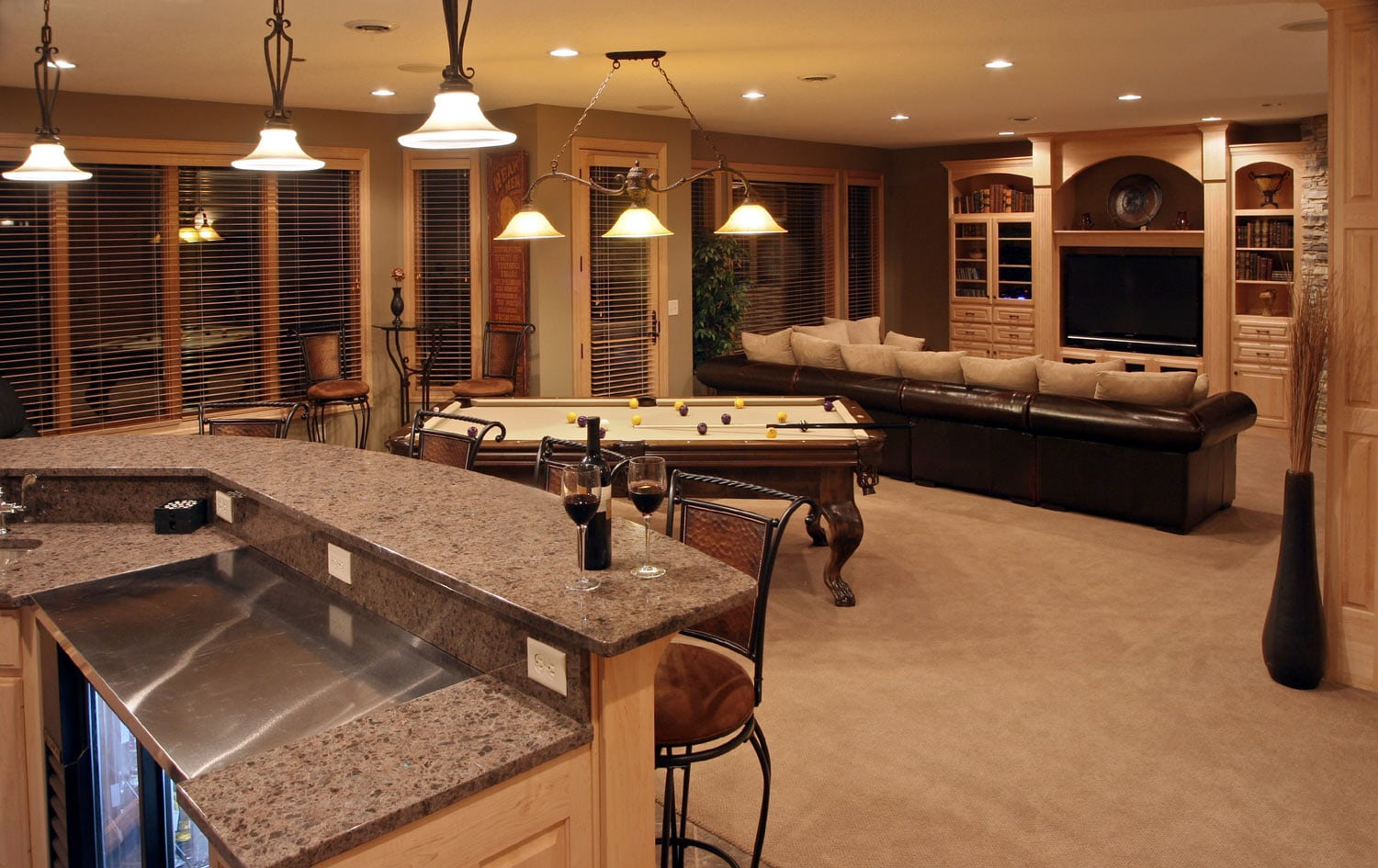 Basement Remodeling Ideas Spc Remodeling Contractors Bathroom Kitchen Basement Remodeling